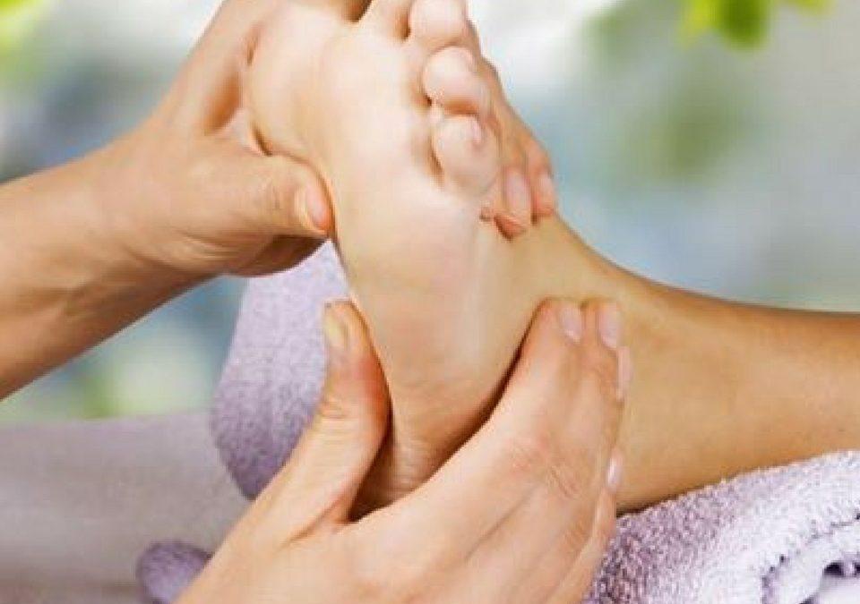Voetreflexmassage de wonderlijke werking